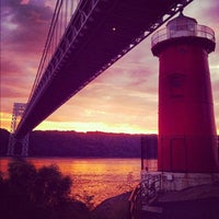 Photo taken at Little Red Lighthouse by Cindi M. on 12/21/2012
