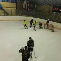 Photo taken at Talsu hokeja klubs (Talsi Ice Hockey club) by Kaspars Z. on 2/6/2016