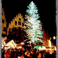 Photo taken at Frankfurter Weihnachtsmarkt by Dominik S. on 12/17/2012