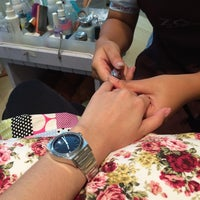 Photo taken at Lolita Her Nails by ♥Bⓘg Applⓔ♥ on 5/8/2014