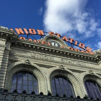 Photo taken at Denver Union Station by Ashley B. on 12/21/2014