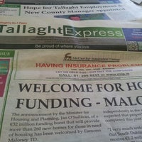Photo taken at Tallaght Express by Phyl S. on 8/22/2013