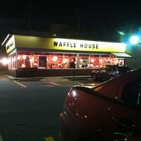 Photo taken at Waffle House by Tif L. on 2/15/2013