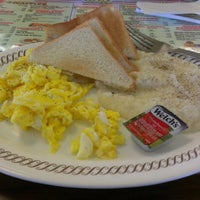 Photo taken at Waffle House by Rob C. on 12/30/2012