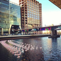Photo taken at Canary Wharf by Alex M. on 12/17/2012