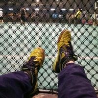 Photo taken at Galaxy Futsal Bangi by Muhammad Zhariff D. on 5/5/2016