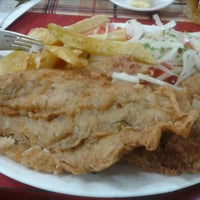 Photo taken at Restaurant Marisquería Marcoa by Jose C. on 5/19/2013