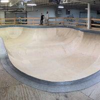 Photo taken at Cream City Skatepark by Clay K. on 1/31/2016