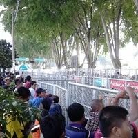 Photo taken at Stadium Sultan Ibrahim, Muar by zul b. on 4/26/2014