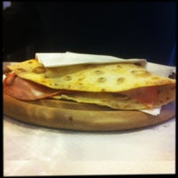 Photo taken at Divina Piadina - Piadineria artigianale a Milano by paolo l. on 2/25/2013