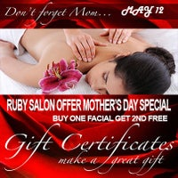 Das Foto wurde bei Ruby Salon von RUBY S. am 5/9/2013 aufgenommen