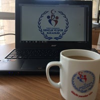 Photo taken at Çankırı Gençlik Hizmetleri ve Spor İl Müdürlüğü by Muhammed on 1/15/2017
