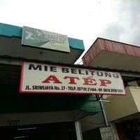 Photo taken at Mie Belitung 'ATEP' by TSA A. on 1/3/2016
