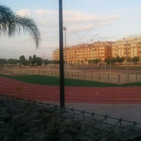 Photo taken at Complejo Deportivo Albal (AQA) by Paola Z. on 7/9/2014