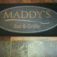 Photo taken at Maddy's Bar and Grille by Janett...yeah man. on 5/26/2013