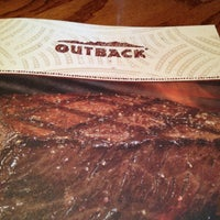 Photo taken at Outback Steakhouse by Billy S. on 4/13/2013