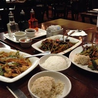 Photo taken at P.F. Chang's Asian Restaurant by mariana g. on 10/21/2012