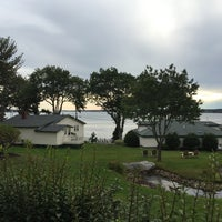 Photo taken at Spruce Point Inn Resort and Spa by Shelly M. on 9/22/2015