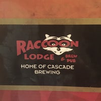 Photo taken at Raccoon Lodge & Brew Pub by Renee S. on 2/15/2016