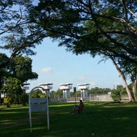 Photo taken at Kranji Reservoir Park by Gekkie K. on 3/13/2016