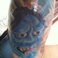 Photo taken at Inkstop Tattoo by Silver M. on 3/22/2013