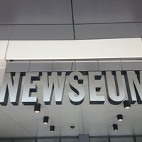 Photo taken at Newseum by Danielle B. on 3/16/2013