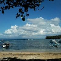 Photo taken at Pelabuhan Padang Bai by Haru E. on 7/6/2013