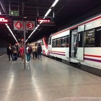 Photo taken at RENFE El Clot-Aragó by Gabrielin on 4/17/2014