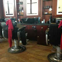 Photo taken at T2 Barber Rooms by Emma O. on 5/15/2013