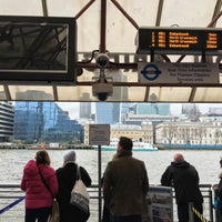 Photo taken at London Bridge City Pier by Slavomír S. on 1/24/2016