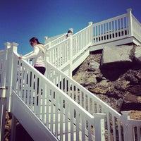 Photo taken at Braun Beach by David U. on 5/26/2013