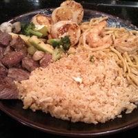 Photo taken at Fuji Japanese Steak House by Dawn M. on 12/28/2014