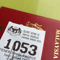 Photo taken at Immigration Department Malaysia by Mai N. on 8/15/2016