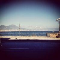 Photo taken at Lungomare di Napoli by Valentina D. on 6/23/2013