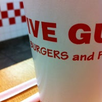 Photo taken at Five Guys by Alaric H. on 1/21/2013