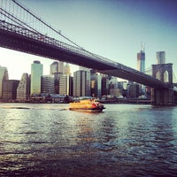 Photo taken at East River Ferry by Marie U. on 5/1/2013