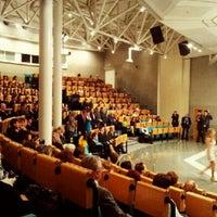 Photo taken at University of Economics by Lobo on 10/5/2012