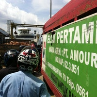 Photo taken at pelampung penyebrangan ferry prima eksekutif by Jaka S. on 1/7/2013