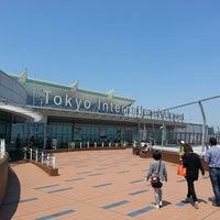 Photo taken at Tokyo (Haneda) International Airport (HND) by Sean B. on 5/5/2013