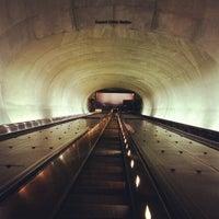 Photo taken at Dupont Circle Metro Station by Joseph L. on 1/18/2013
