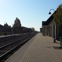 Photo taken at Metra - Lake Forest by a k on 10/4/2012