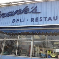 Photo taken at Franks Deli & Restaurant by Mike O. on 1/30/2013