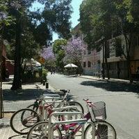 Photo taken at Barrio Lastarria by cari on 11/3/2016