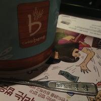 Photo taken at Caffé bene by Donggi J. on 2/23/2013