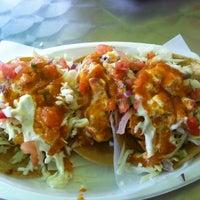 Photo taken at Tacos Baja Ensenada by Oscar F. on 10/24/2012