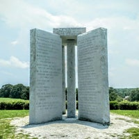 Photo taken at Georgia Guidestones by Philip L. on 6/9/2015
