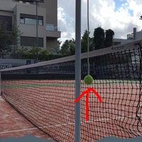Photo taken at Filothei Tennis Club by Hrww C. on 5/18/2016