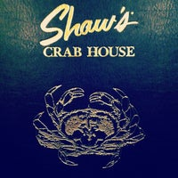 Photo taken at Shaw's Crab House by Tyler W. on 10/16/2012
