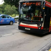 Photo taken at SMRT Buses: Bus 963 by Yan S. on 9/12/2014