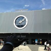 Photo taken at Messe Basel by zArchitect V. on 6/15/2013